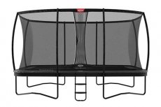 BERG Trampolin Ultim Elite 500 + Sicherheitsnetz DLX XL
