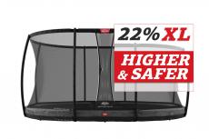BERG Trampolin Grand Champion Inground 520 + Sicherheitsnetz DLX XL