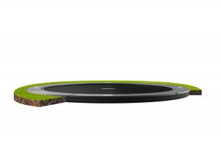 BERG Trampolin Elite FlatGround 430