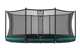 BERG Trampolin Grand Favorit InGround 520 + Sicherheitsnetz Comfort