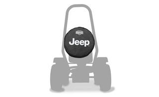 BERG Ersatzrad 400 Offroad Jeep®