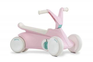 BERG GO² Pink Rutscher-Tretauto