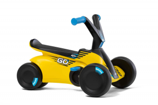 BERG GO² SparX Yellow Rutscher-Tretauto