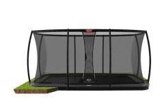 BERG Trampolin Ultim Elite FlatGround 500 + Sicherheitsnetz DLX XL