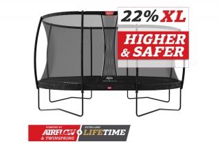 BERG Trampolin Grand Champion 520 + Sicherheitsnetz DLX XL