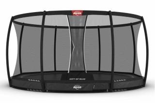 BERG Trampolin Elite InGround 430 + Sicherheitsnetz Deluxe