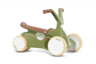BERG GO² Retro Green Rutscher-Tretauto