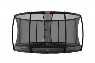 BERG Trampolin Elite InGround 380 + Sicherheitsnetz Deluxe